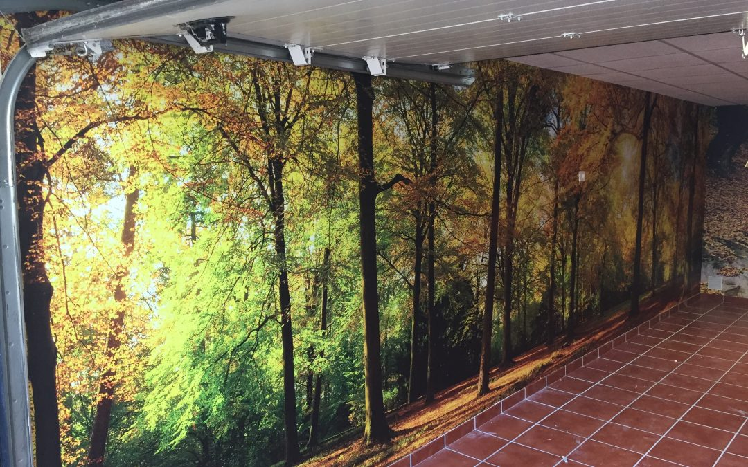 Decoración de interiores, murales para habitaciones