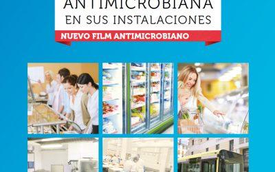 Nuevo film transparente antibacteriano al 99,9%